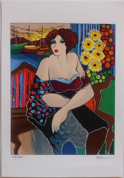"Patricia Govezensky- Original Serigraph on Paper ""Mary"""