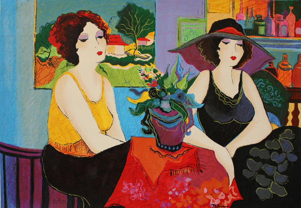 "Patricia Govezensky- Original Serigraph on Paper ""Esco Bar"""