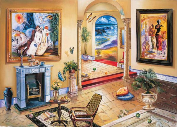 Alexander Astahov- Interior with Chagall