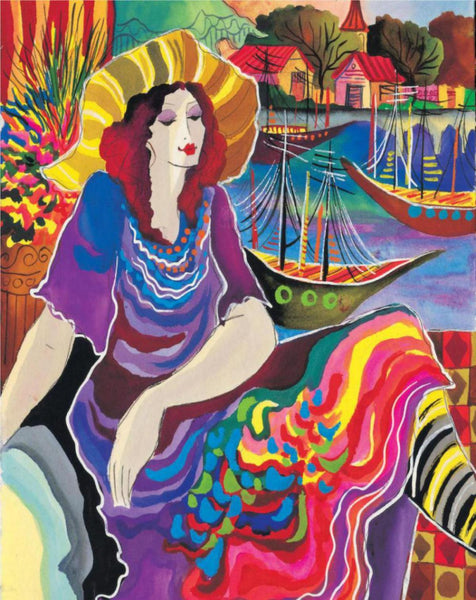 Patricia Govezensky- Lady by the Bayside