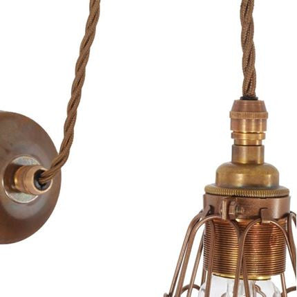 APOCH PULLEY CAGE WALL LIGHT MLWL187