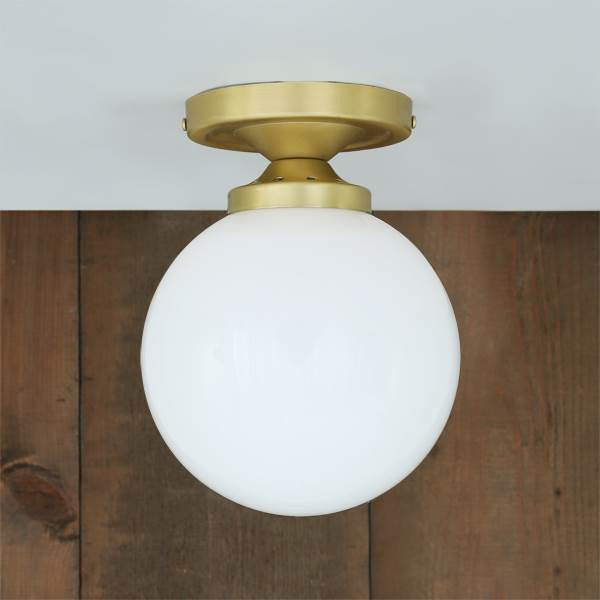 YAOUNDE FLUSH GLOBE CEILING LIGHT
