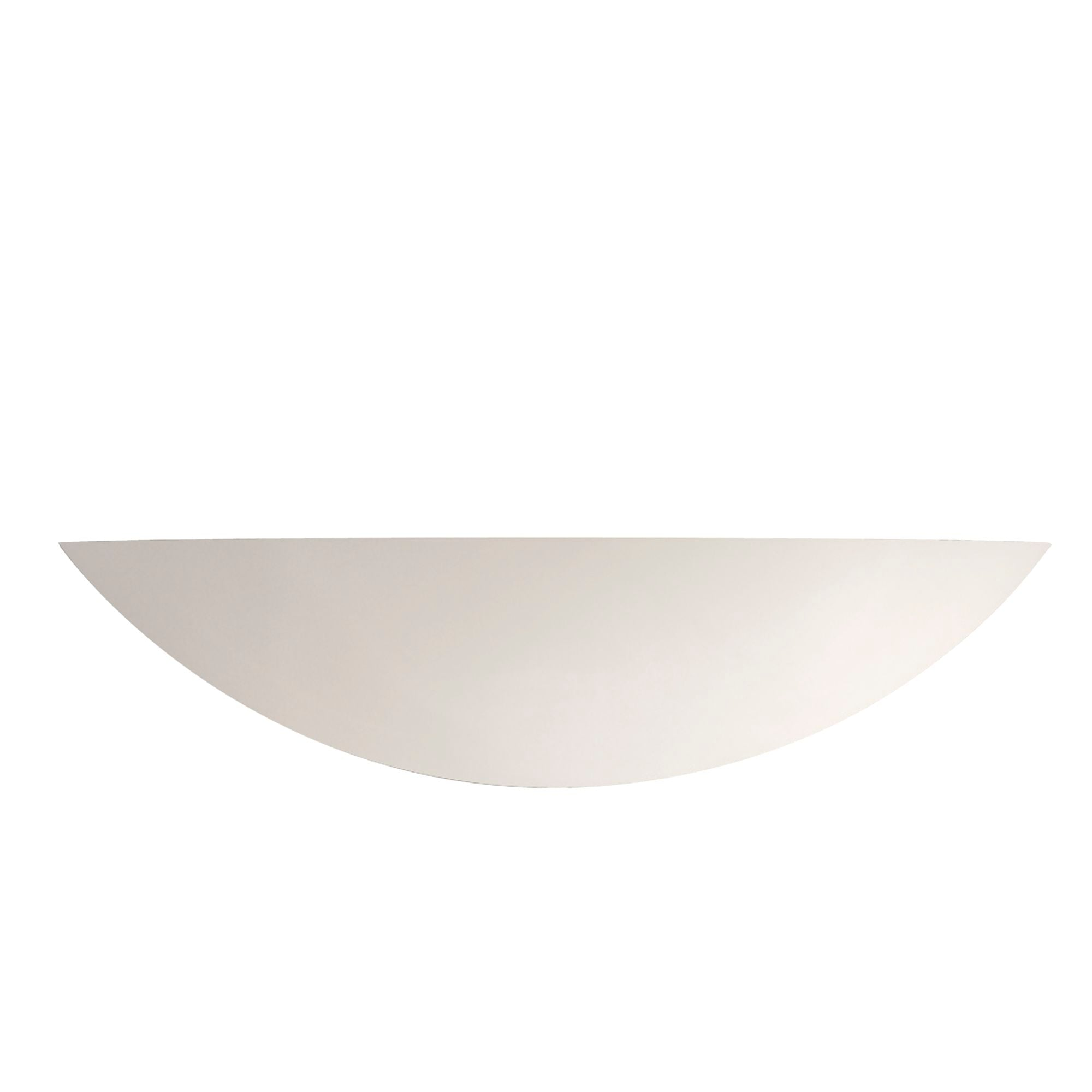 GYPSUM CERAMIC WALL LIGHT - Dia 40cm UPLIGHTER