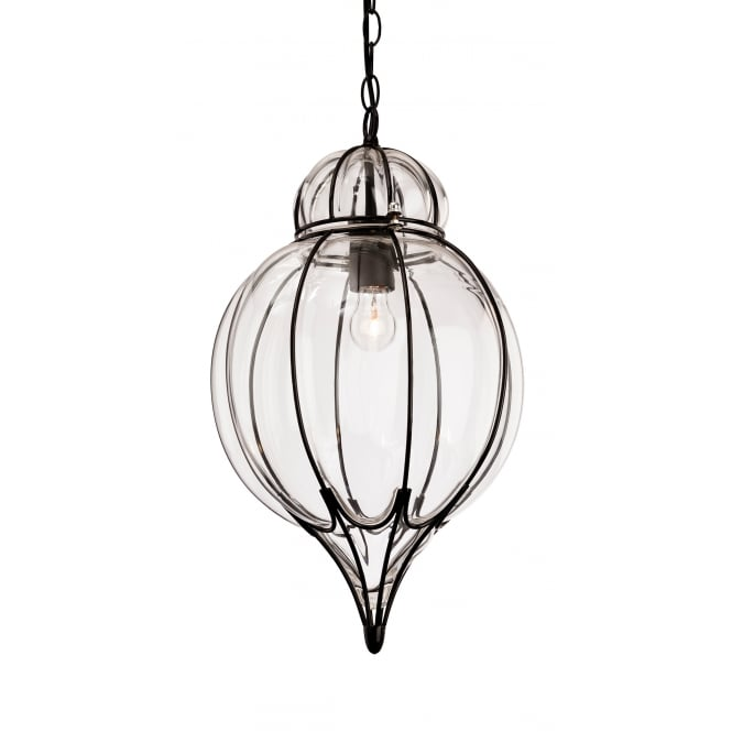 Pascal Pendant Light Black