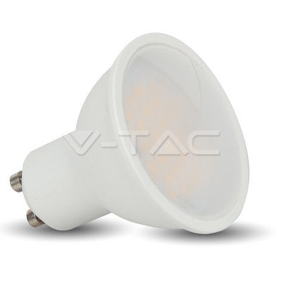 Filter LED Lights Category  Reset All LED Spotlight - 5W GU10 SMD White Plastic 320Lm Warm White 110°