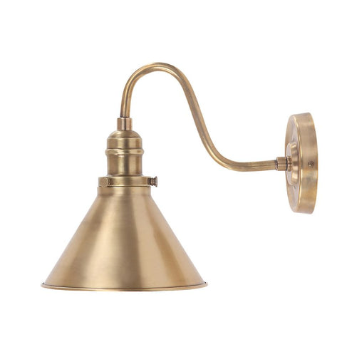 Provence Aged brass Wall light
