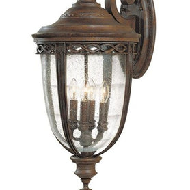 English Bridle 4Lt X Large Wall Lantern British Bronze