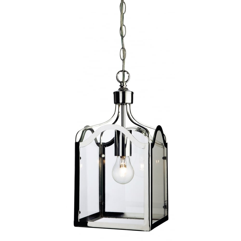 Monarch chrome lantern