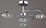 GOSLAR 4L POLISHED CHROME SEMI FLUSH FIT