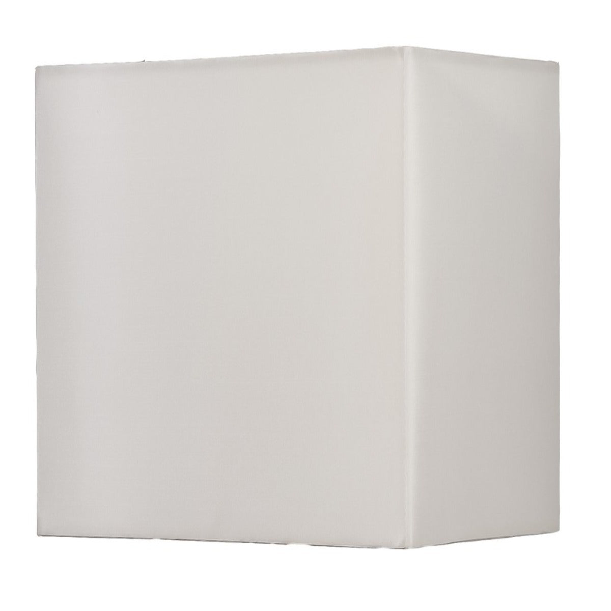 Off White 30cm Silk Rectangular Shade