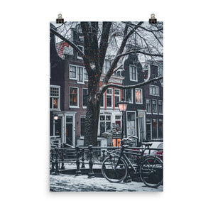Winter morning in Amsterdam