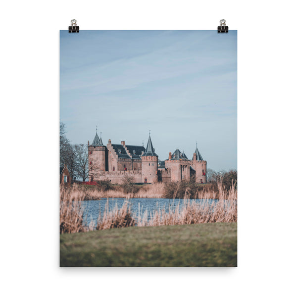 Muiderslot Castle from a distace
