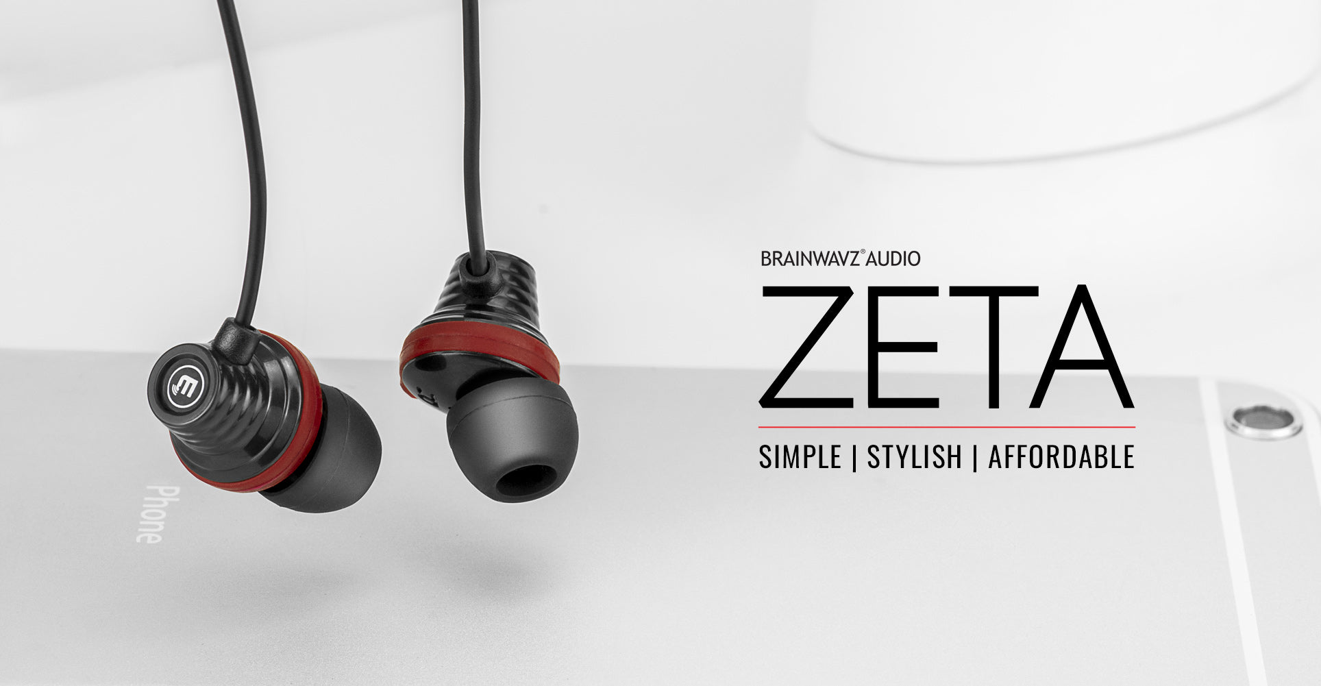 Brainwavz Zeta earphone for all mobile phones