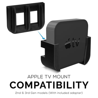 Apple TV Mount with VHB Tape