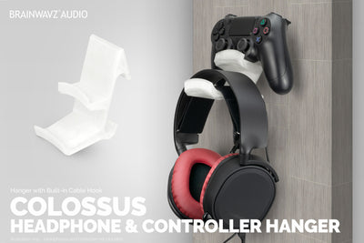 The Colossus - Headphone and Game Controller Hanger