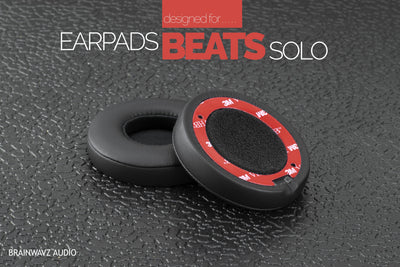 Brainwavz Replacement PU Leather Earpads for BEATS Solo