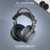 Headphone Memory Foam Earpads - XL Size - Sheepskin