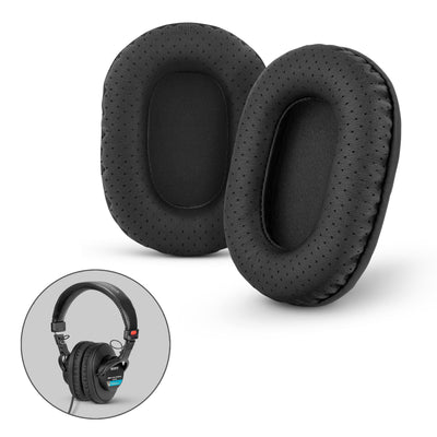 Brainwavz Replacement Perforated PU Leather Earpads for SONY MDR-7506, MDR-V6, MDR-CD900ST with Memory Foam