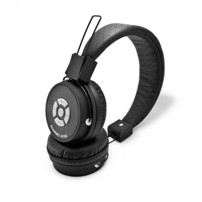 Kidwavz KV-100 Childrens Wireless Bluetooth Volume Limited Headphones - Black