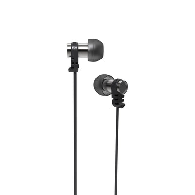 Omega IEM Noise Isolating Earphones With Microphone & Remote - Black