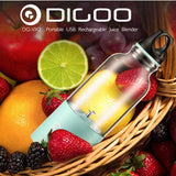 Small Portable Rechargeable Fresh Juicer Blender With Bottle Cup