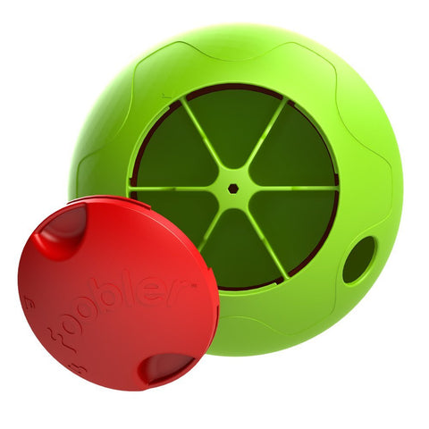 play time Automatic self-Reloading puzzle Feeder for Dog, toy Ball Green/red,Tigerfn Shop