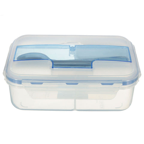 Outdoor Portable Microwave Lunch Box with Chopsticks Spoon Food Containers, Tigerfn Shop