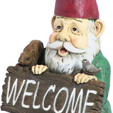 William Welcome Home garden Gnome Statue outdoor Decoration,Tigerfn Shop