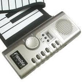 Small Roll Up Easy Storage Electronic Soft Keyboard Piano, Tigerfn Shop