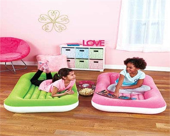 Spend an enjoyable night with Inflatable KIDS Sleeping Beds Comfortable and compact,Tigerfn Shop