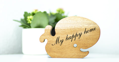 My happy home - Glad hval - Design by Witt