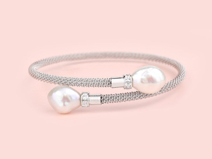 Davina Bangle - Baroque Pearls