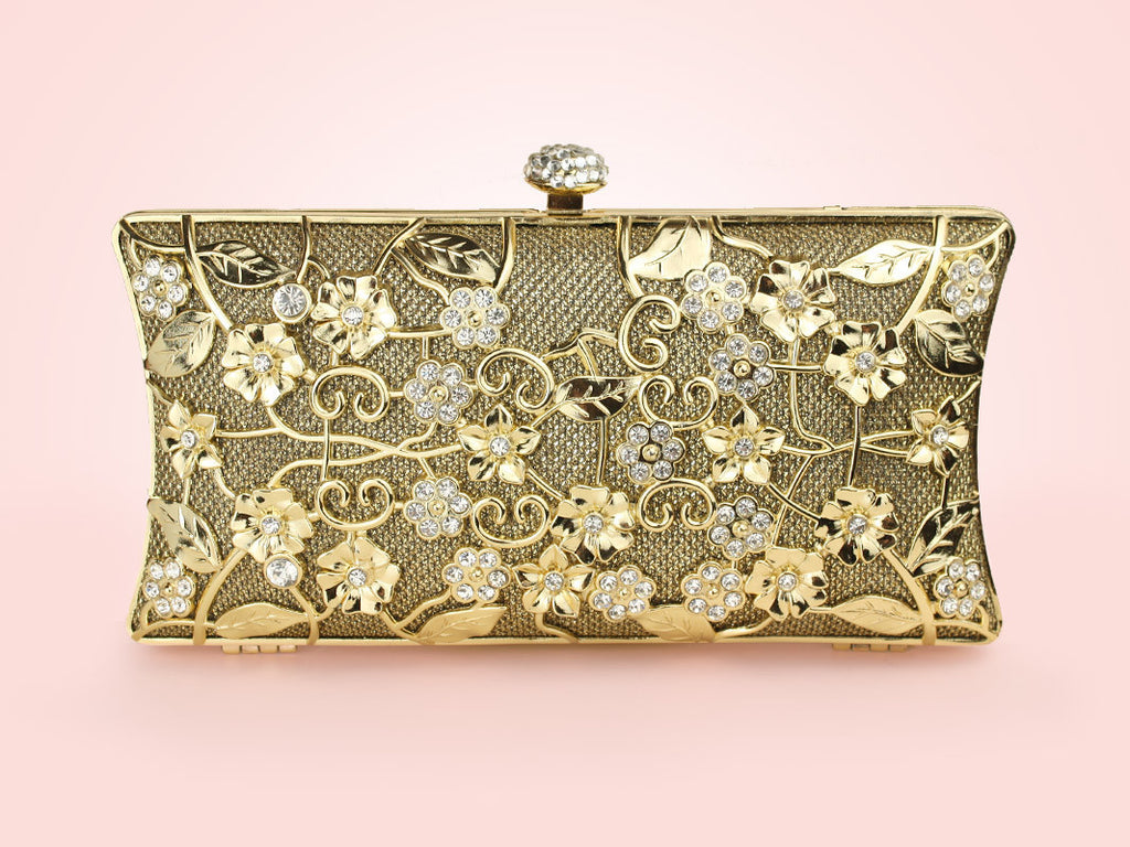 Evelyn Clutch - Gold