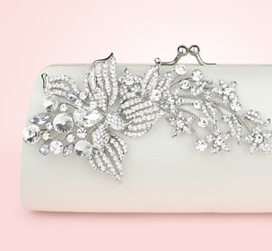 Briony Bridal Clutch