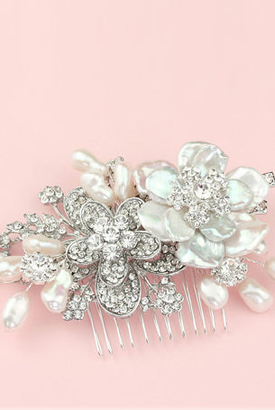 Florence Bridal Hair Accessories