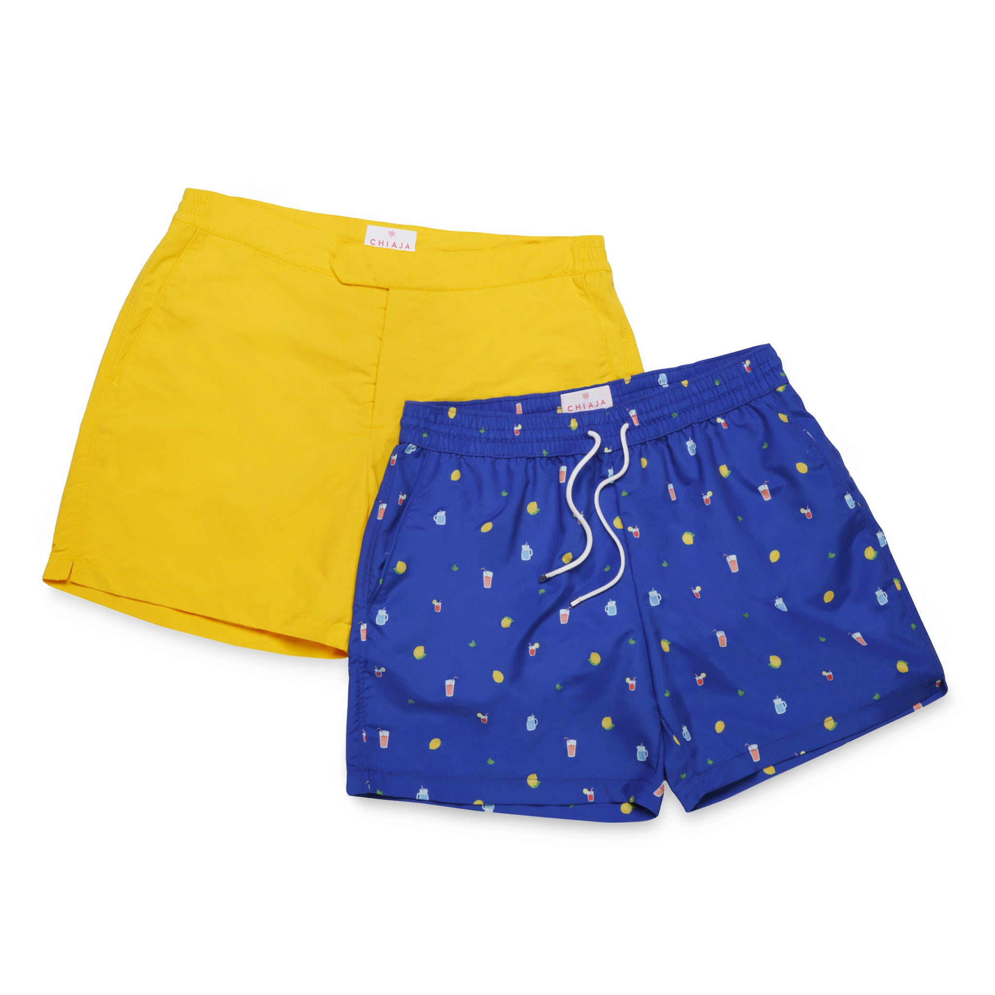Chiaja Swim Shorts Collection - Handmade in Italy