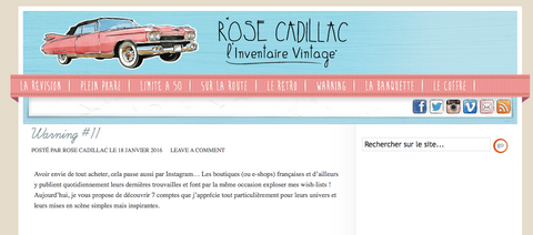 Rose Cadillac selects Lapetitebrocante.net