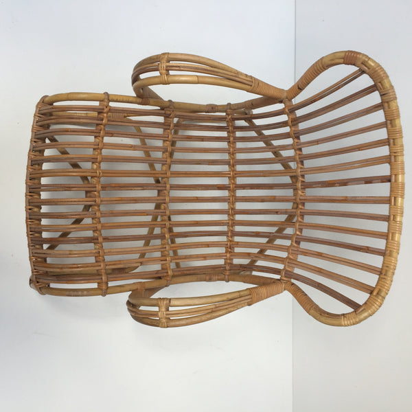 Vintage Wicker Chair 1- Fauteuil Rotin Vintage 1- Free Delivery UK-Livraison Gratuite France