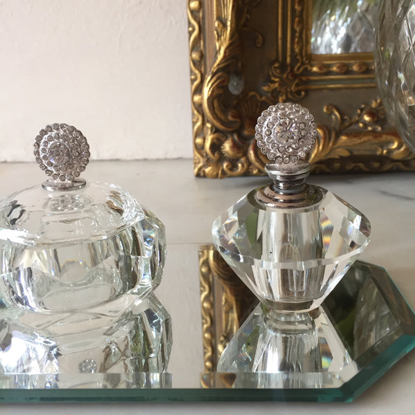 Set of 3 Perfume Bottles - Ensemble de 3 Flacons de Parfum  - Livraison Gratuite France - Free Delivery UK