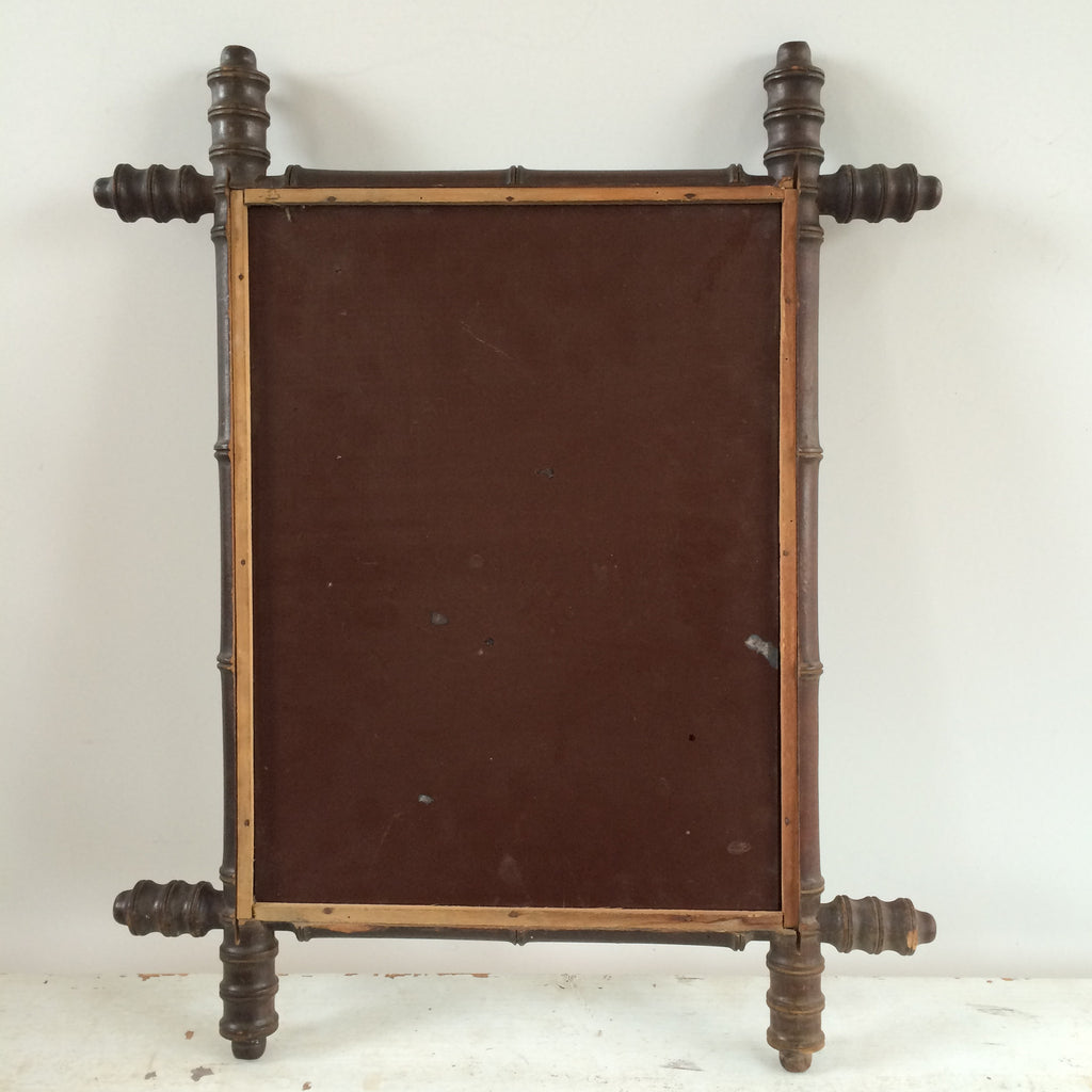vintage french bamboo mirror 52 cm miroir bambou vintage 52 cm free delivery uk