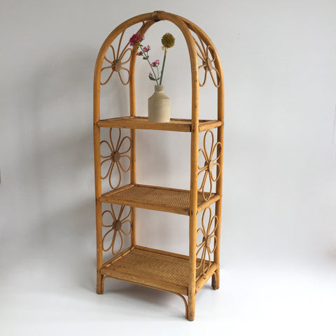 Vintage Rattan Wicker Shelves - Etagere Rotin Vintage - Free Delivery UK-Livraison Gratuite France Belgique