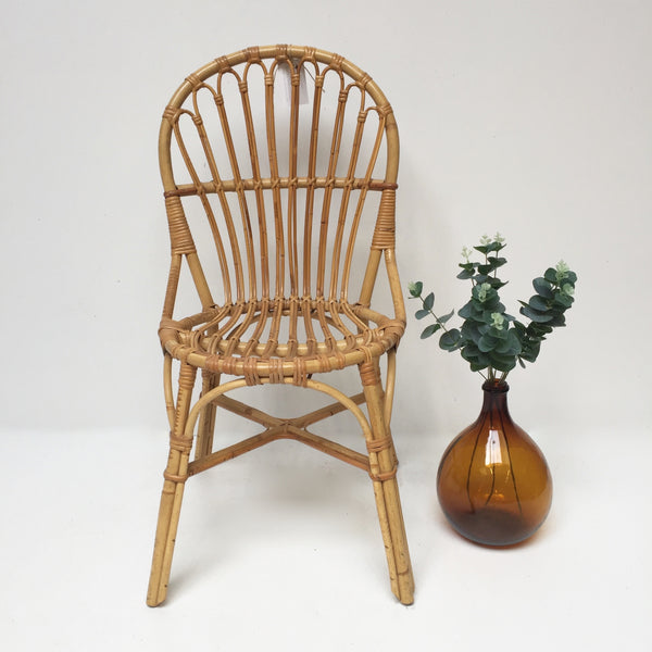 Vintage wicker chair chaise vintage rotin free - Chaise rotin vintage ...