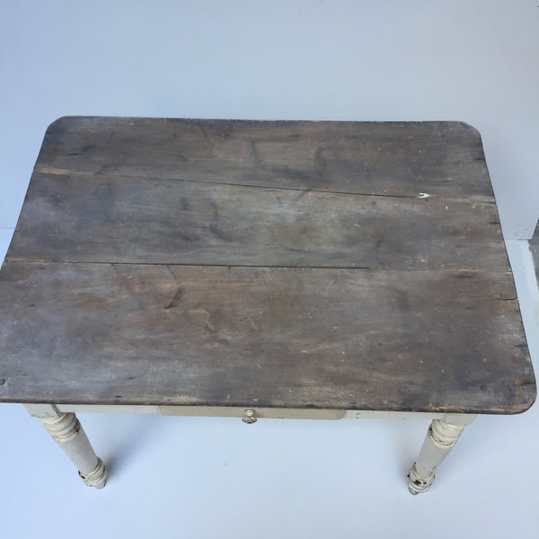 Vintage French Farmhouse Shabby Chic Table - Table de Ferme Shabby Vintage - Free delivery UK France
