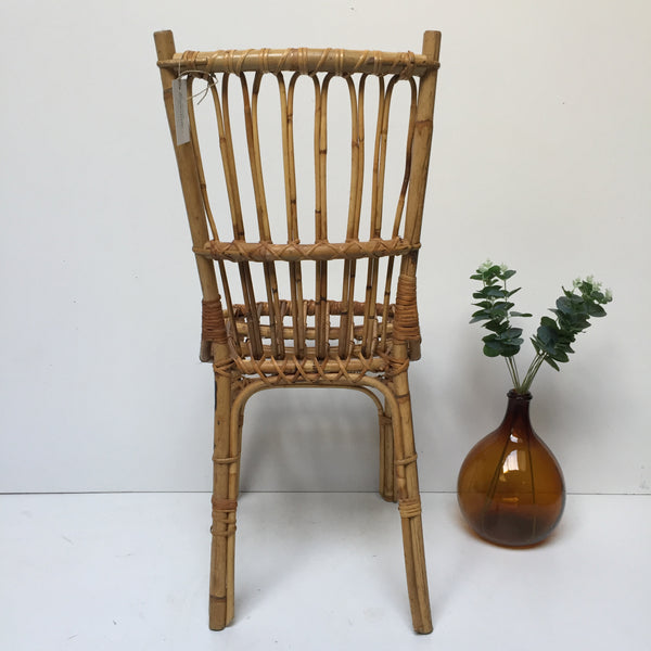 Vintage Wicker Chair - Chaise Vintage Rotin - Free Delivery UK - Livraison Gratuite France