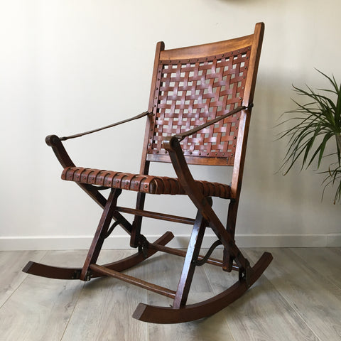 Rocking Chair vintage - Free delivery UK - Livraison Offerte France Belgique