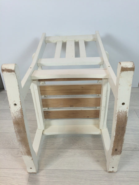 Child's White Rocking Chair