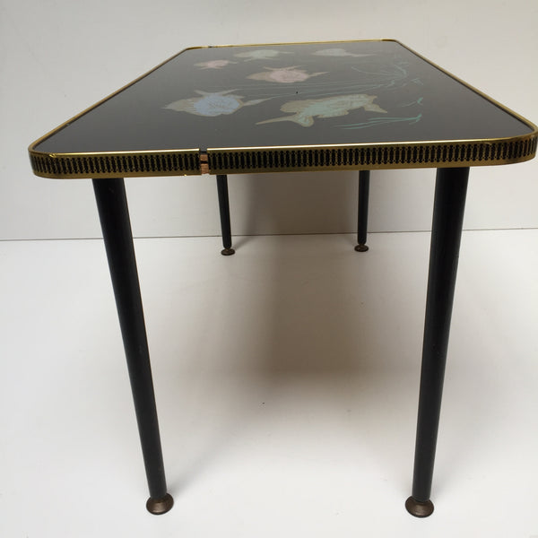 Vintage Coffee Table Dansette Legs - Table Basse Vintage Pieds Fuseaux  - Free delivery UK France