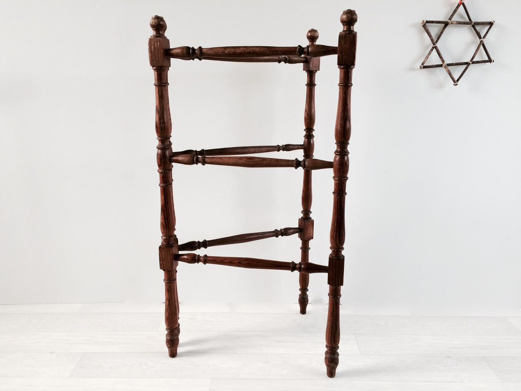 Vintage French Towel Rail 1900s