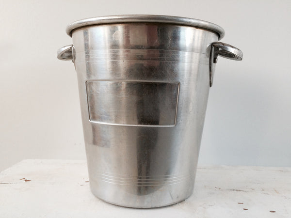 Vintage French Ice champagne Bucket