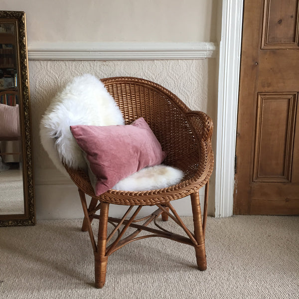Vintage Wicker High Quality Chair -  Fauteuil Rotin Vintage Haute Qualité - Free delivery UK - Livraison Gratuite France